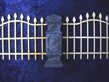 21 pc. Fencing #3 Set Unpainted Resin Thomarillion Terrain Dwarven Forge D&D