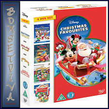 DISNEY CHRISTMAS FAVOURITES  **BRAND NEW  4 DVD BOXSET**