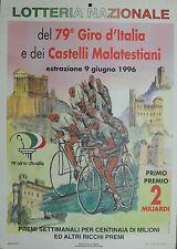 """"""" LOTTERIA NAZIONALE 1996  del 79° Giro d'Italia e dei Castelli Malatestiani """""""