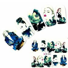 Tattoo Geisha Model Anime Nail Art Aufkleber Manga Japan Water Decall