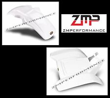 NEW HONDA ATC200X ATC 200X 86 - 87 WHITE PLASTIC FRONT AND REAR FENDER SET