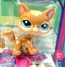 Littlest Pet Shop Bobble in Style Caramel Brown Cat #3578 New Sealed Package LPS