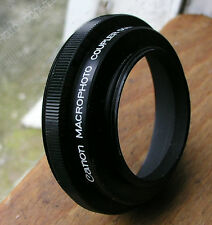 genuine canon  macro photo coupler reverse mount LTM 39mm to  55mm