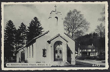 St Edward's Catholic Church Milford New Jersey postcard