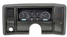 78-88 Monte Carlo SS El Camino Dakota Digital Dash VHX Black Alloy White Light