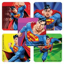 25 Superman Stickers Party Favors Teacher Supply  DC Comics Super Heroes