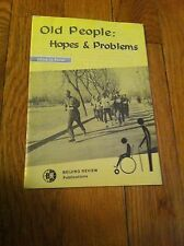 Vintage Old People Hopes & Problems China In Focus Beijing Review Booklet Rare