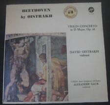 BEETHOVEN VIOLIN CONCERTO OISTRAKH / GAUK VOX PL 16.150 lp 1962