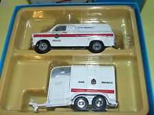 FORD TRANSIT MK1 VAN & TRAILER POLICE DOG BRANCH CORGI VANGUARDS VA06615 1:43