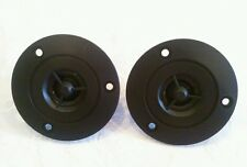 "Mylar Dome Home/Car Pair (2) Replacement TWEETERS Speakers Flush Mount 1/2"" .5"""