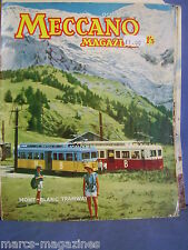 MECCANO OCTOBER 1962 MONT BLANC TRAMWAY NORTHERN STAR SWINDON KINGS GEMINI R 100