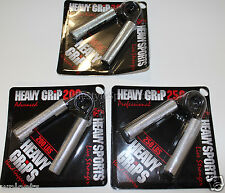 Heavy Grips Hand Grippers Metal Set 3 Pack 200-300lbs