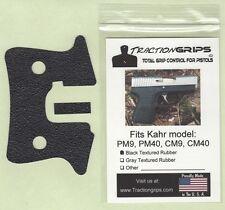 Tractiongrips grips for Kahr PM9, PM40, CM9, CM40 pistols /rubber pistol grip
