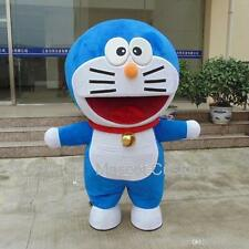 Doraemon Robot Cat Cute Character Anime Manga Mascot Costume Adult Suit Cartoon