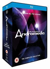 Andromeda - The Complete Series Collection: Seasons 1 2 3 4 5 [Blu-Ray Box Set]