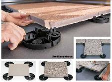 10 Stück Stelzlager Plattenlager EH20 mit fester Höhe 20mm für Terrassenplatten