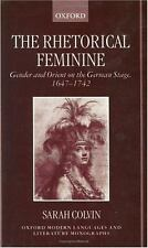 The Rhetorical Feminine: Gender and Orient on the German Stage, 1647-1-ExLibrary