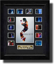 MICHAEL JACKSON THIS IS IT  FILM CELL MEMORABILIA ticket