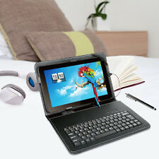 "10.1"" Quad Core Android 4.4 KitKat Tablet 8G 10 Inch WIFI + Keyboard Gift Purple"