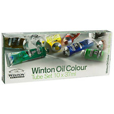 WINSOR & NEWTON NEW WINTON OIL PAINTS 10 x 37ml Tube Starter Set