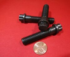 """12 Point Flanged Bolt, Extra Strong Steel, PT, 7/16""""-14 x 2.0"""" Length, 10 Pcs"""