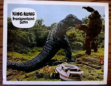 KING KONG ESCAPES 1967 HONDA Horror Sci-Fi German Lobby Card Frankenstein's Son