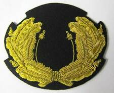 Nazi 1936 - 1937 Zeppelin Officer Wreath Cap Hat Badge Pre WW2 WWII German