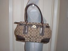 COACH Hamptons Signature Medium Carryall #11062
