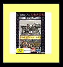 Medieval: Total War - Gold Edition PC 100% Brand New