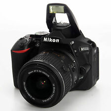 Nikon D5500 DX 24.2 MP DSLR w 18-55mm VR II USA Factory Refurbished 1546B #1546