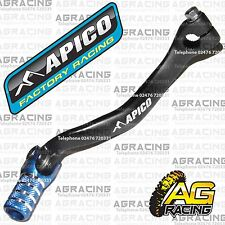Apico Black Blue Gear Pedal Lever Shift For TM MX 125 2000-2015 Motocross Enduro
