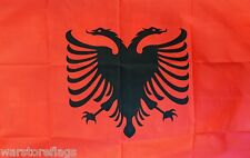 ALBANIA NATIONAL FLAG 5X3 ALBANIAN FLAGS