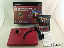 Garou Mark of the Wolves + Neo Geo Stick 2 Playstation 2 Import PS2 US Seller