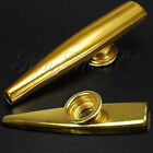 Sales Golden Metal Kazoo Flute Mouth Music Instrument Harmonica Affordable Z