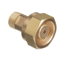 CGA-520 B Tank Acetylene to CGA-200 MC Acetylene Regulator, Adaptor #306