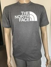 NWT THE NORTH FACE Men's Half Dome Tee Shirt Medium Grey Heather Sz S