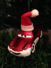 SANTA LIGHTNING MCQUEEN ORNAMENT custom christmas disney pixar cars 2 holiday