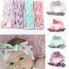 4 PCS Kids Girls Baby Headband Toddler Bow Flower Hair Band Accessories Headwear