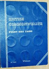 Whitman Folder No 9674 British Commonwealth Penny Size Coins With 36 Coins #