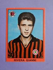FIGURINA CALCIATORI MIRA FOOTBALL STICKERS RIVERA MILAN 1967-68 RARA NEW-FIO