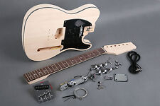 SWAMP ASH DIY TELE STYLE ELECTRIC GUITAR KIT-TOP QUALITY WOODS