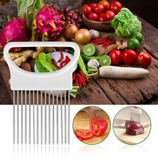 Home Onion Tomato Slicer Meat Tenderizer Stainless Steel Kitchen Vegetable Tool