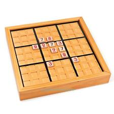 Wooden Sudoku Highly Logic Number Brain Teaser Puzzle Board Game Educational Toy