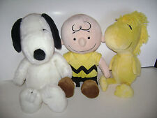 Complete Set Kohls Cares PEANUTS Plush Snoopy Woodstock Charlie Brown Toys Lot