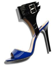 Jimmy Choo for H&M Blue and Black Stiletto Heels Pumps size 40USA size 9