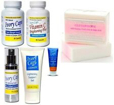 Super  Ivory Caps skin lightening  System+ Premium Extra strength whitening Soap