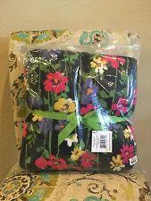 Vera Bradley Wildflower Garden Throw Blanket NWT