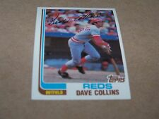CINCINNATI REDS DAVE COLLINS 1982 TOPPS #595