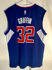 Adidas NBA Jersey Los Angeles Clippers Blake Griffin Blue sz S