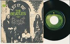 "THE BEATLES 45 TOURS 7"" FRANCE LET IT BE"